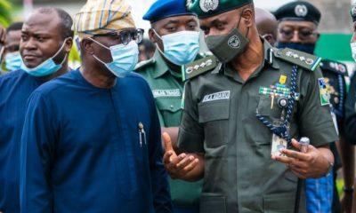Sanwo-Olu insecurity police terrorism bandits