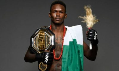 Israel Adesanya Nigeria UFC MMA Verotti