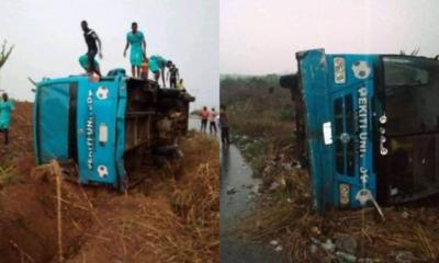 Ekiti United bus accident