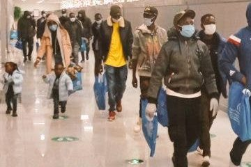 118 Libya returnees, Nnamdi Azikiwe International Airport, Nigerians in Diaspora Commission, COVID-19