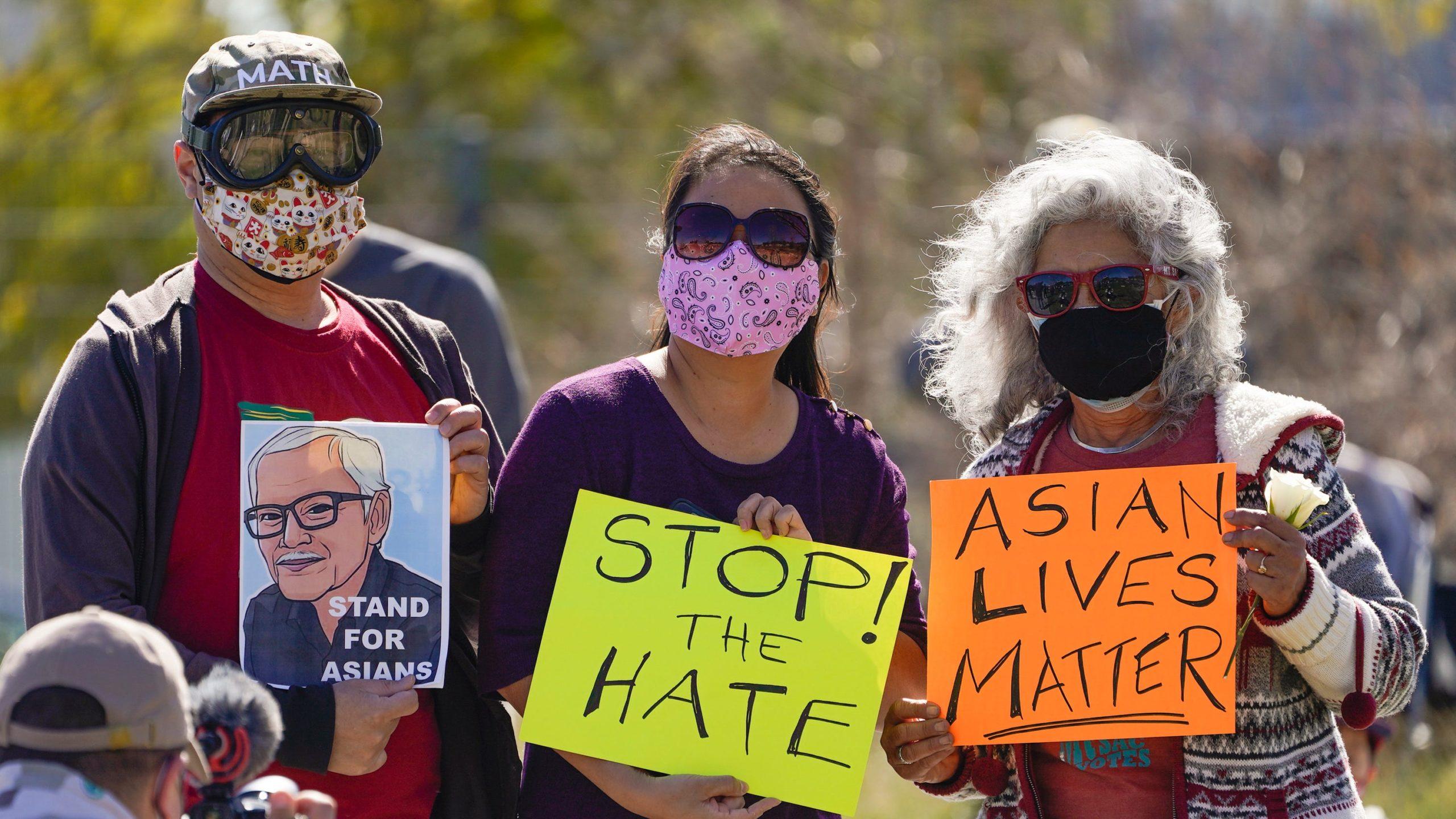 #StopAsianHate Anti-Asian violence Georgia killings Atlanta