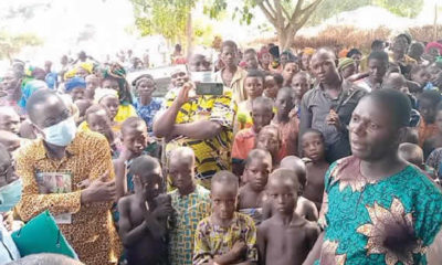 Ogun Refugees in Benin Republic FG Red Cross
