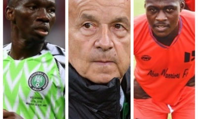 Omeruo Rohr Adekuble Abia Warriors Super Eagles Afcon qualifiers