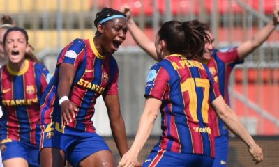 Oshoala Barcelona Femini Man City Champions League
