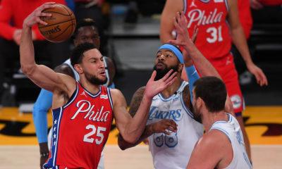 Lakers Philadelphia 76ers NBA