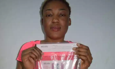 Vivien Tarmadji: nabbed by NDLEA with 18 wraps of heroin in private part