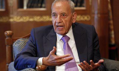 Lebanon could sink like Titanic, parliament speaker says