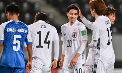 Japan Mongolia World Cup qualifiers