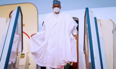 Buhari travels for medical trip in UK