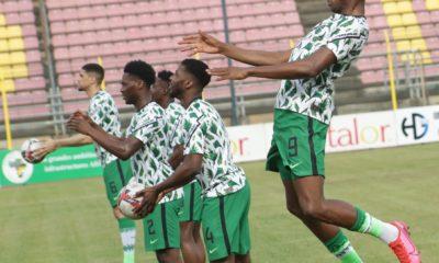 Nigeria 3-0 Lethoso, Osimhen, Etebo, Onuachu on target, Super Eagles thrash visitors