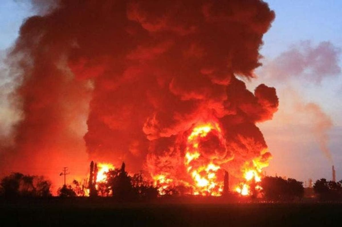 JUST IN: 11 tankers burnt as fire destroys Kaduna garage