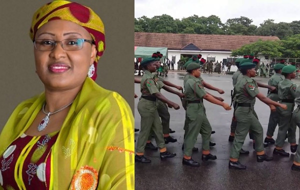 Military women, women in uniform, Aisha Buhari, Gender Policy for Armed Forces,
