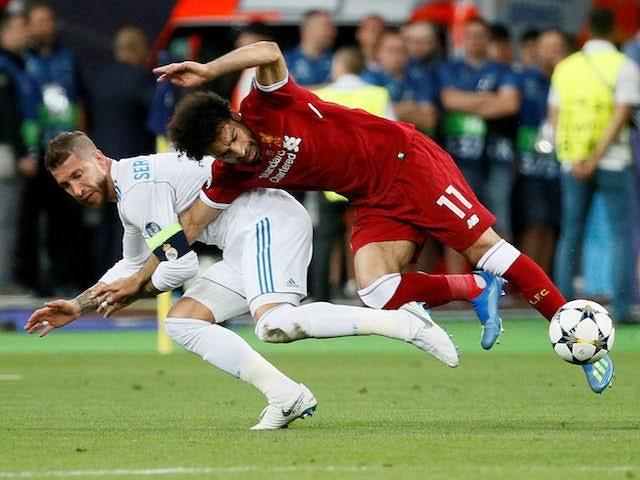 Ranos Salah Real Madrid Liverpool Champions League