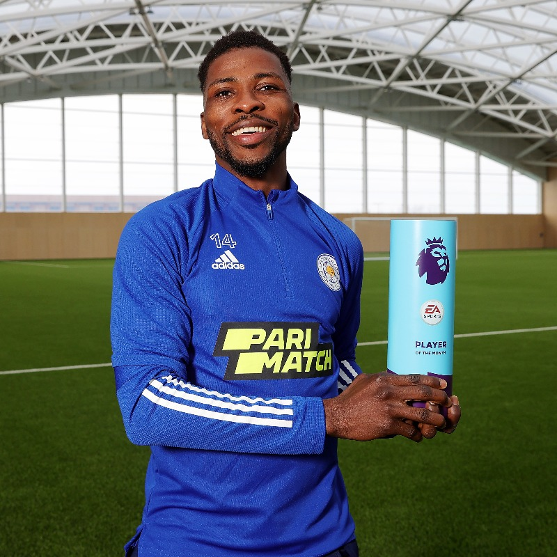 Iheanacho Premier League Player of the Month