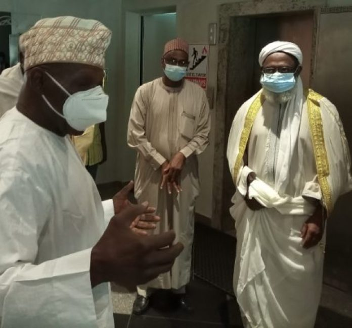 Insecurity: Obasanjo receives Sheikh Gumi, eight other delegates in Abeokuta