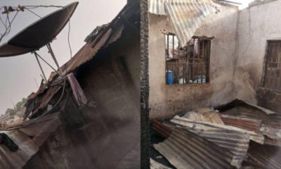 PHOTOS: Two children burnt to death in Niger