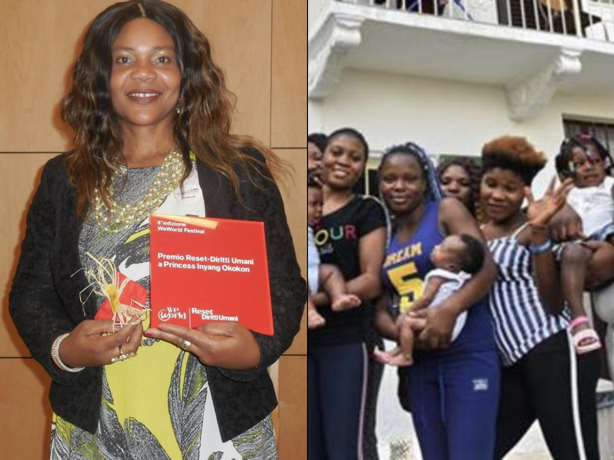 Princess Okokon Piam Onlus COVID-19 sex trafficking lockdown sex workers