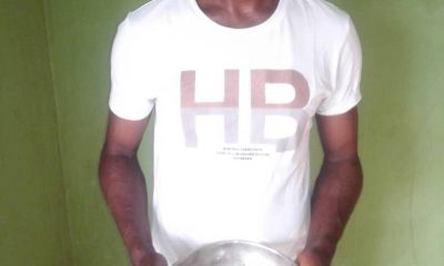 Abuja drug trafficker intercepted with 900 grammes of cocaine concealed in commercial bus