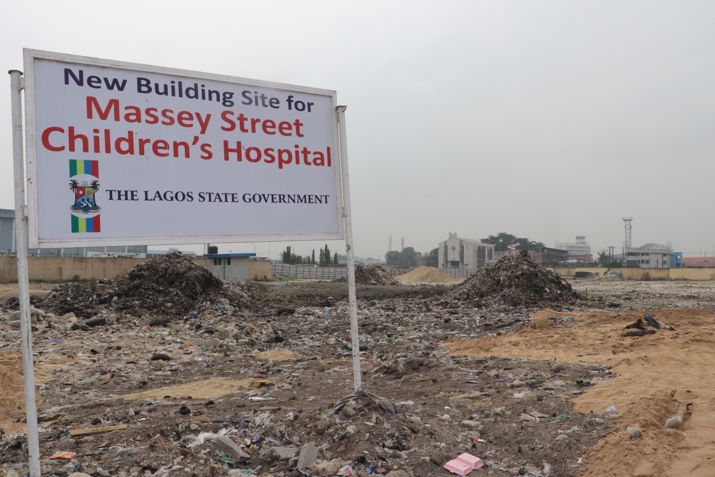 Massey Children Hospital overstretched - Sanwo-Olu