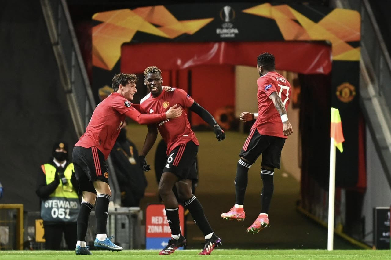 Man United Roma Europa League