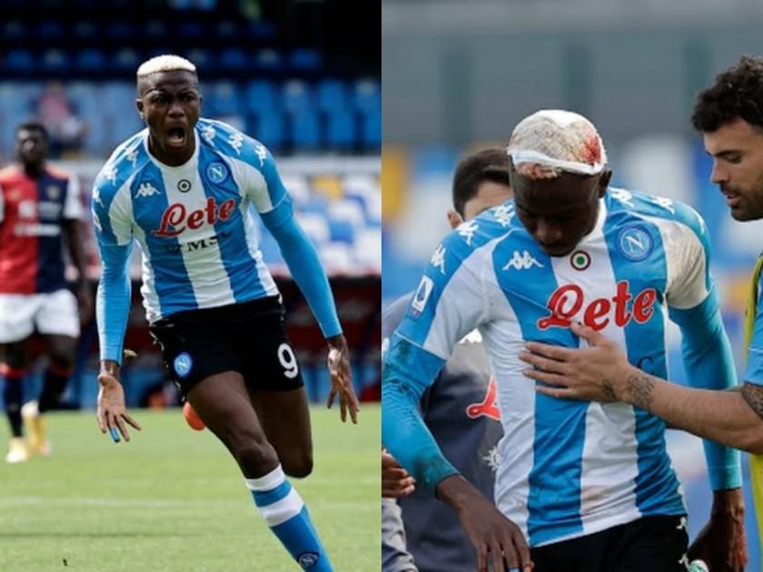 Victor Osimhen Napoli Cagliari Serie A