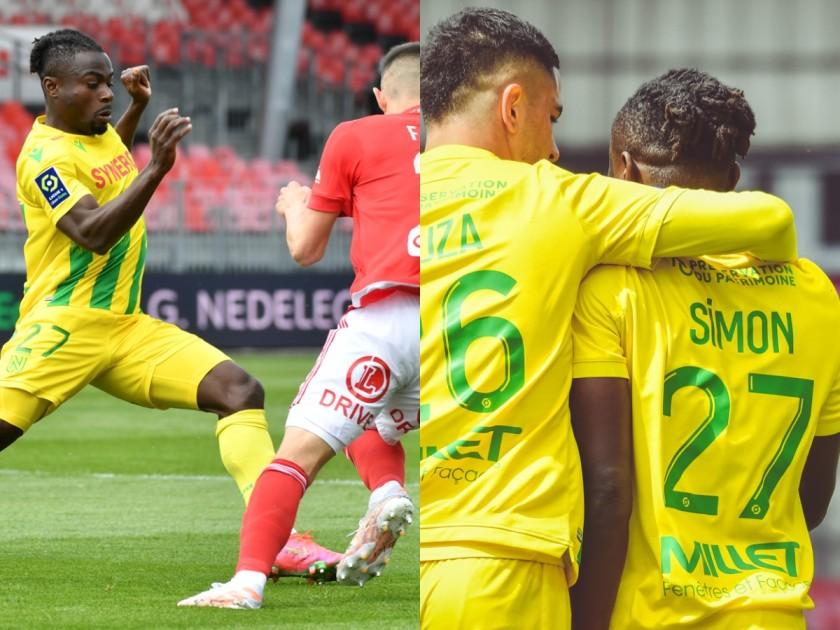 Simon Nantes Brest Ligue 1