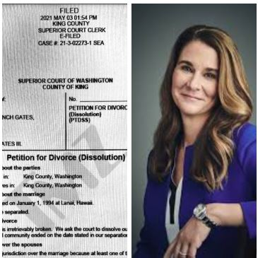 Our marriage is irretrievably broken, Melinda Gates states in divorce petition