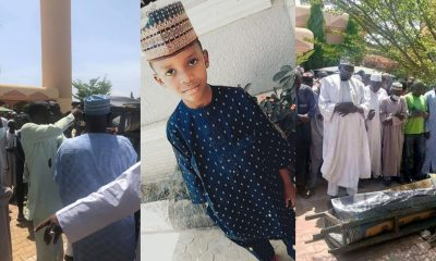 PHOTOS: Six-year-old boy killed by abductors buried in Kaduna