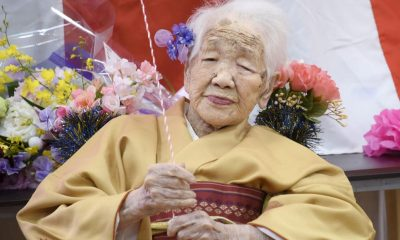 COVID-19: World's oldest person pulls out of Tokyo Olympics torch relay