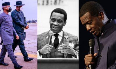 Osinbajo, Keyamo pay condolence visit to Pastor Adeboye