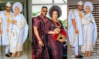 Actor Bolanle Ninalowo shares adorable wedding-themed pictures on 41st birthday