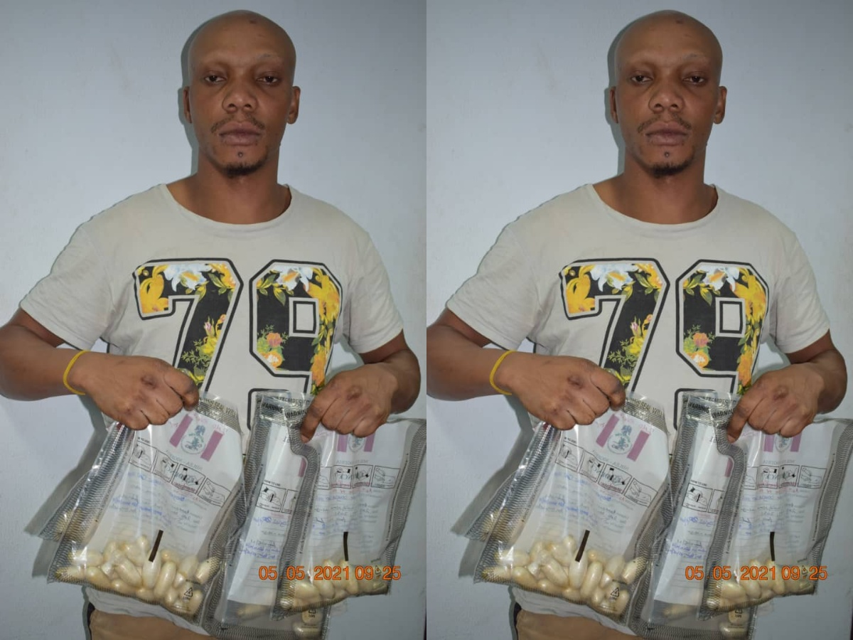 Okoguale Douglas NDLEA heroin drug Abuja airport