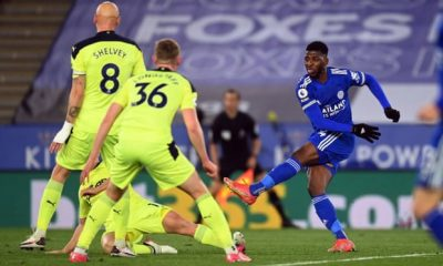 Iheanacho Leicester Newcastle Premier League