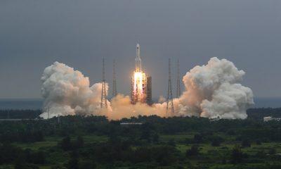 Chinese Rocket Debris Abuja Long March 5B