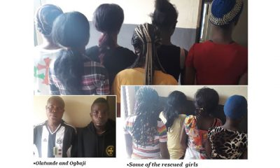 Sex slaves: Police rescue 22 underage girls, arrest officials after raid on Ogun brothel