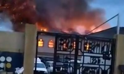 JUST IN: No casualty recorded in Redeemed Church fire - Police