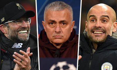 Top world coaches Mourinho Guardiola FLick Klopp
