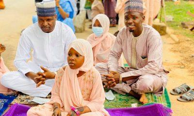 DCP Abba Kyari looks dapper in rare Sallah outing with family