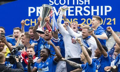 Rangers Scottish Premiership Balogun Gerrard Aribo