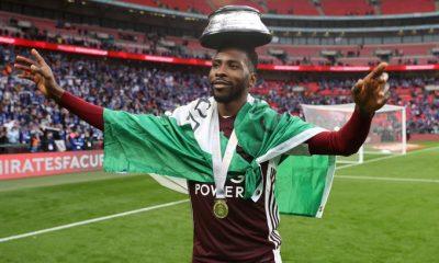 Igbo Iheanacho Leicester Nigeria