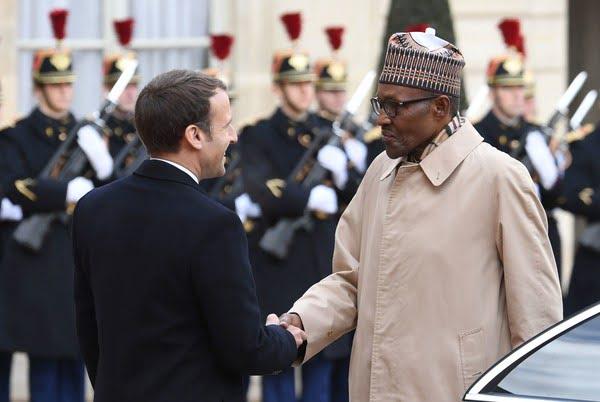 Buhari Macron insecurity COVID-19 economy climate change