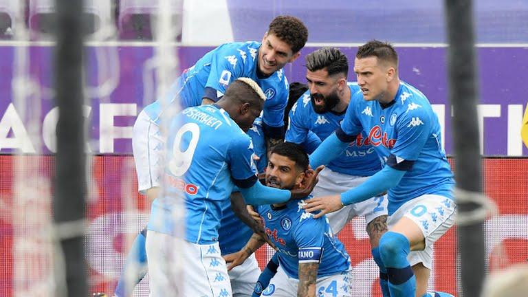 Napoli Fiorentina Champions League Serie A