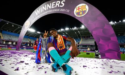 Assisat Oshoala Barcelona Fememni Champions League
