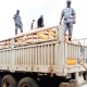 Customs impound Dangote truck carrying 600 smuggled rice