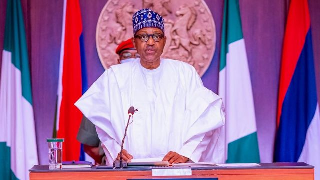 Buhari Nigerians leaving office jobs for farms
