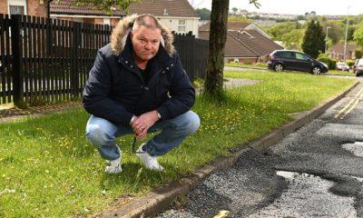 Al Mitchell pothole car plymouth