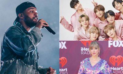iHeartRadio Awards 2021,The Weeknd, Roddy Ricch, Taylor Swift