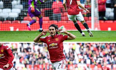 Edinson Cavani Fulham Goal of the Month