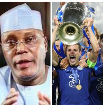 Nigerians attack Atiku for giving priority to Chelsea's victory over Pantami, insecurity
