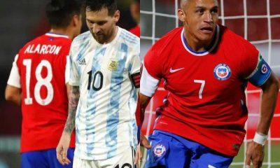 Sanchez Messi Argentina Chile